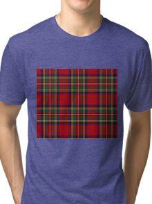 Tartan Tri-blend T-Shirt