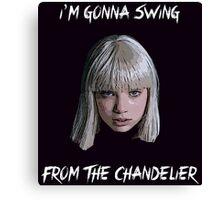 Sia - Chandelier Canvas Print