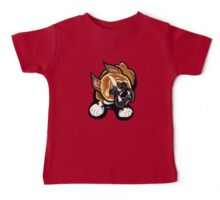 Boxer At My Feet Baby Tee
