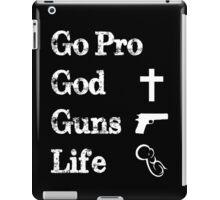 Go Pro iPad Case/Skin