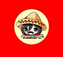 Mikasa Su Casa Phone Case by Kitsuneace