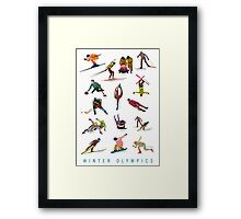 Winter Olympics Framed Print