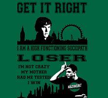 Sherlock meets Sheldon Unisex T-Shirt