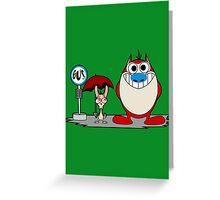 My Neighbor Stimpy Greeting Card