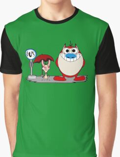 My Neighbor Stimpy Graphic T-Shirt