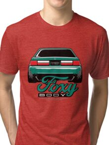 Foxy Body Mustang Tri-blend T-Shirt