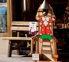 Pinocchio Bench by phil decocco