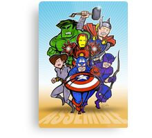 Mighty Heroes Metal Print