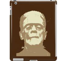 Frankenstein brown iPad Case/Skin