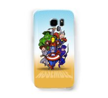 Mighty Heroes Samsung Galaxy Case/Skin