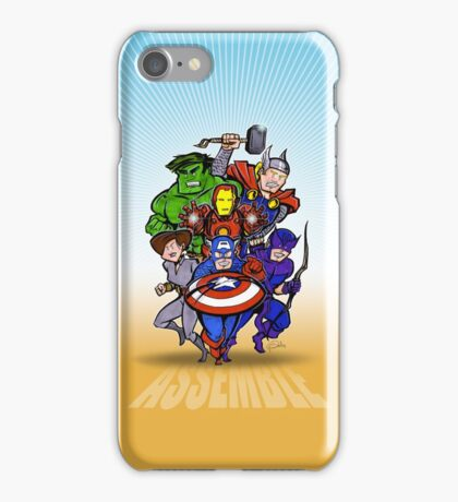 Mighty Heroes iPhone Case/Skin