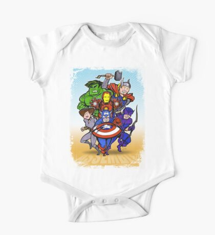 Mighty Heroes Kids Clothes