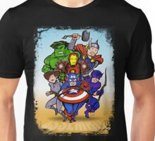 Mighty Heroes Unisex T-Shirt