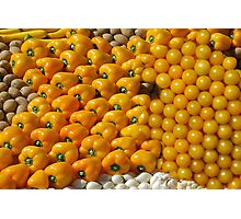Yellow fruit Photographic Print
