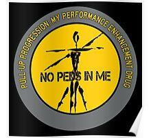 Pull-Up Progression - My Performance Enhancement Drug Poster