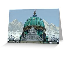 Austria - country of culture and nature Greeting Card