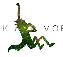 Rick and Morty - Abstract Graphic by bijgu1997