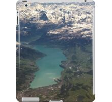 Lake Thun: North Face of the Eiger, Moench and Jungfrau iPad Case/Skin