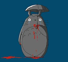 Not my neighbour Totoro by MonsterCrossing