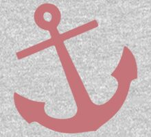 Coral Anchor Kids Clothes