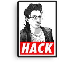 Hackerman Canvas Print