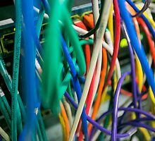 tangled Network cables by PhotoStock-Isra