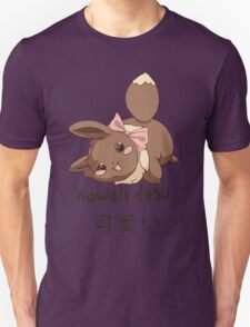 Kawaii Desu Eevee T-Shirt