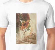 Orange Sunflowers - Found In The Attic Unisex T-Shirt