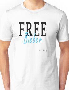 FREE BIEBER Unisex T-Shirt