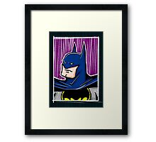 Dark Night Framed Print