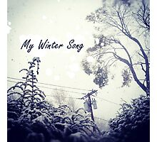 My Winter Song Photographic Print