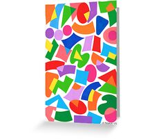 FREE FIGURES 132 Greeting Card