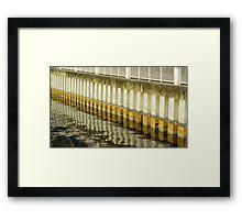 Tampa Riverwalk Framed Print