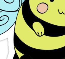 Cat Bumblebee Sticker