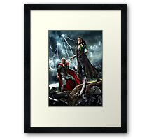 Control and Chaos Framed Print