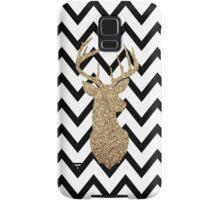 Gold Deer Chevron Samsung Galaxy Case/Skin