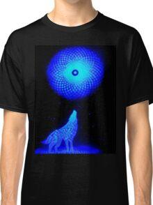 Fractal Moon Cry Classic T-Shirt