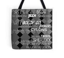 ALL the Fandoms Tote Bag