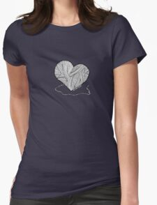 Love to Knit & Crochet Womens Fitted T-Shirt