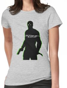 Sam Fisher Sillouette Womens Fitted T-Shirt