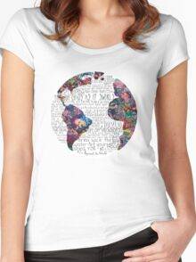 Us Against The World Women's Fitted Scoop T-Shirt