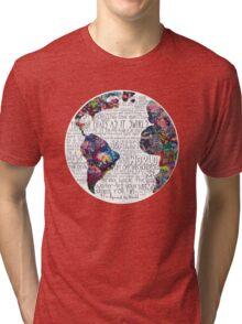 Us Against The World Tri-blend T-Shirt