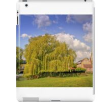 Olney Church and Mill Race iPad Case/Skin