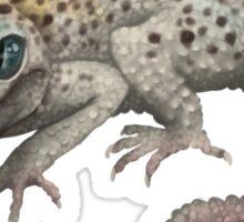 Galaxy Morph Leopard Gecko Sticker