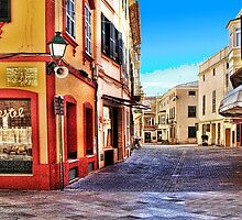 Street Corner, Ciutadella by John Lynch