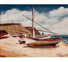 Fishing Boats, Algarve Photographic Print