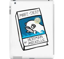 Moby Derp iPad Case/Skin