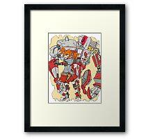 Gaige the Mechromancer Framed Print