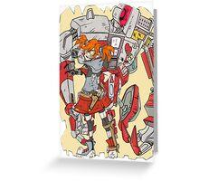 Gaige the Mechromancer Greeting Card