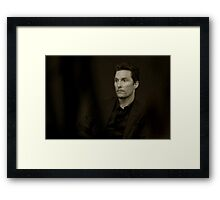 So Matthew McConaughey and I travelled back to the 1800s for a portrait sitting Framed Print